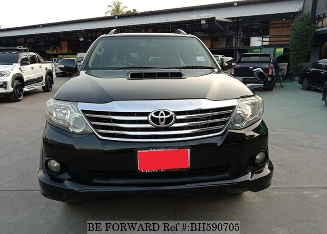 Used 2011 TOYOTA FORTUNER BH590705 for Sale