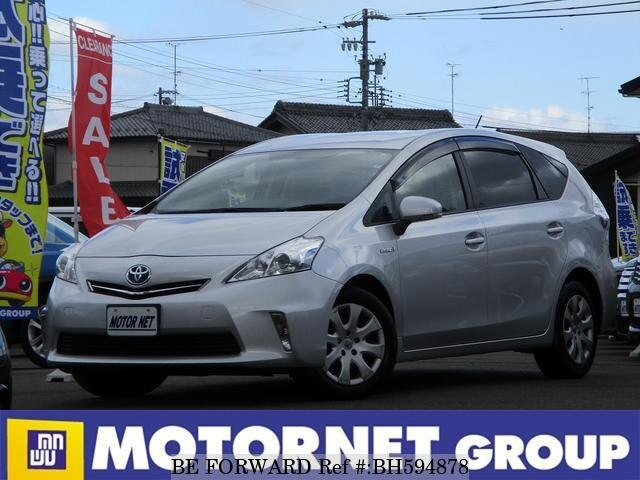 Used 2011 TOYOTA PRIUS ALPHA BH594878 for Sale