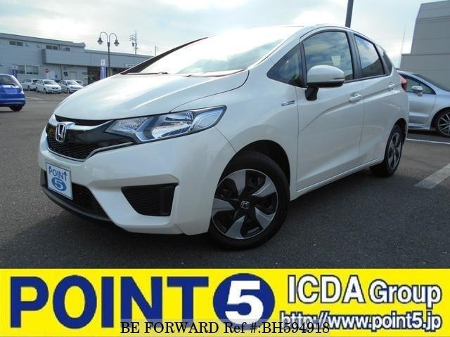 Used 2016 HONDA FIT HYBRID BH594918 for Sale