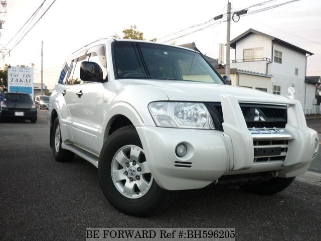 Used 2004 MITSUBISHI PAJERO BH596205 for Sale