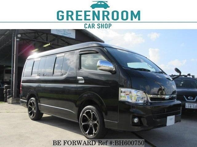 Used 2011 TOYOTA HIACE WAGON BH600750 for Sale