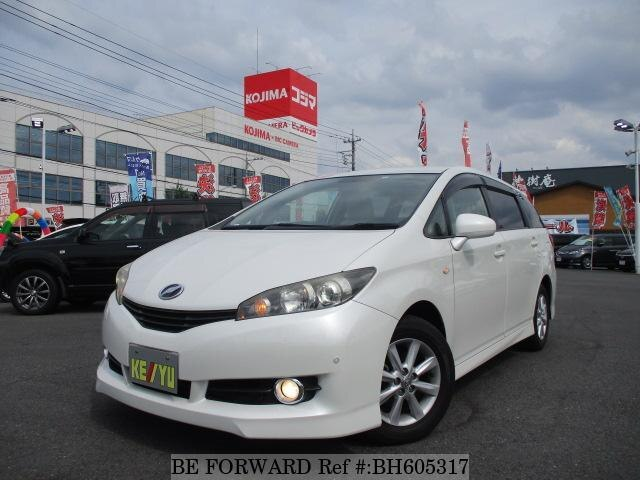 Used 2009 TOYOTA WISH BH605317 for Sale