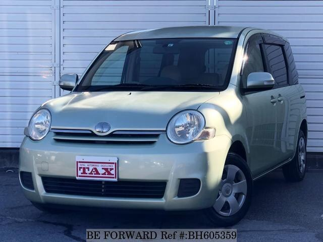 Used 2007 TOYOTA SIENTA BH605359 for Sale