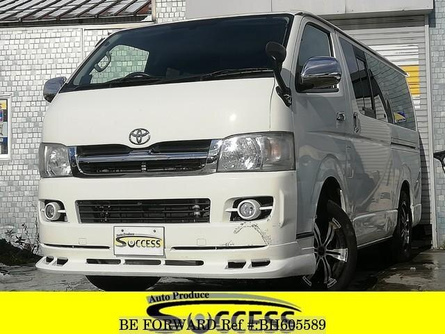 Used 2007 TOYOTA REGIUSACE VAN BH605589 for Sale