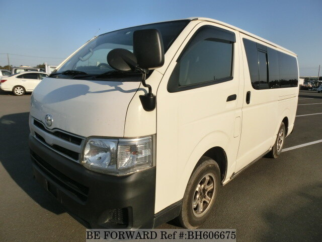 Used 2011 TOYOTA HIACE VAN BH606675 for Sale