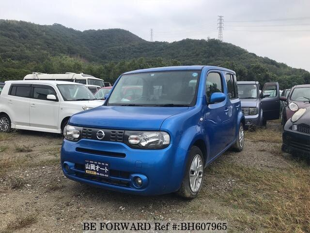 Used 2009 NISSAN CUBE BH607965 for Sale
