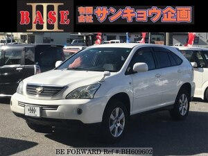 Used 2006 TOYOTA HARRIER HYBRID BH609602 for Sale