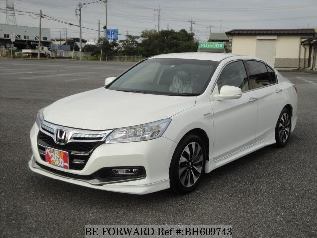 Used 2014 HONDA ACCORD HYBRID BH609743 for Sale