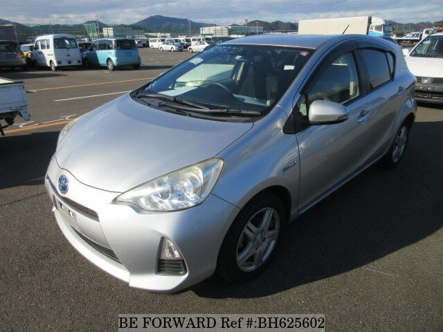 Used 2012 TOYOTA AQUA BH625602 for Sale