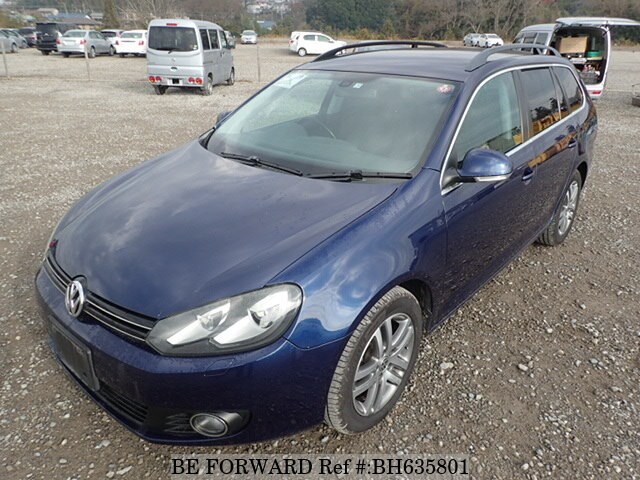 Used 2009 VOLKSWAGEN GOLF VARIANT BH635801 for Sale