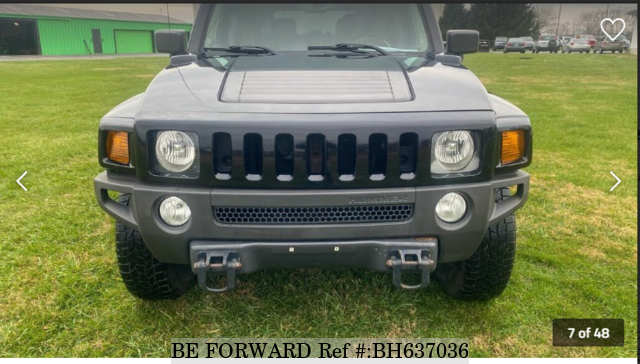 Used 2007 HUMMER H3 BH637036 for Sale