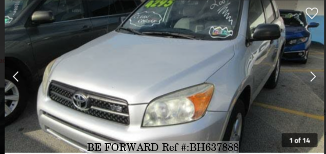 Used 2007 TOYOTA RAV4 BH637888 for Sale