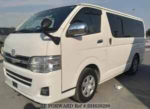 Used 2010 TOYOTA HIACE VAN BH638299 for Sale