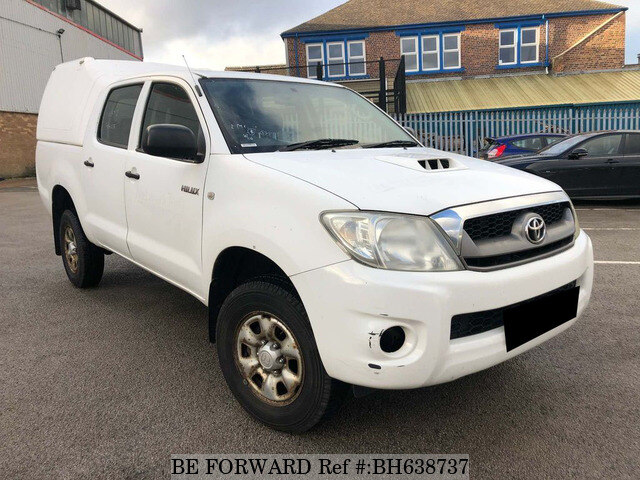 Used 2008 TOYOTA HILUX BH638737 for Sale