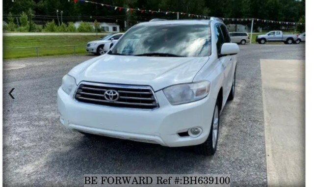 Used 2010 TOYOTA HIGHLANDER BH639100 for Sale