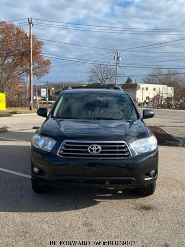 Used 2008 TOYOTA HIGHLANDER BH639107 for Sale