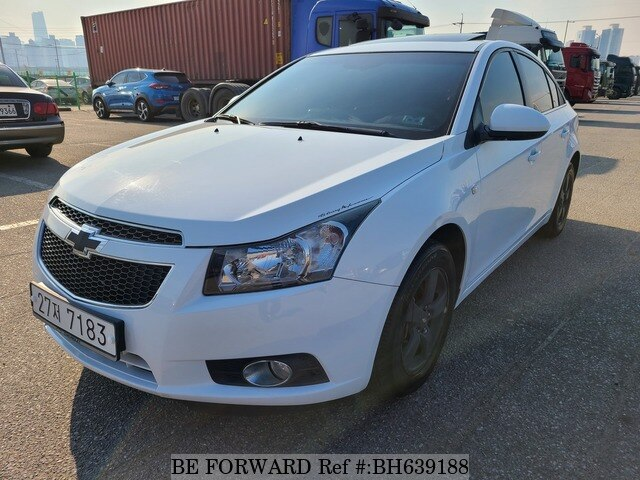 Used 2012 DAEWOO (CHEVROLET) LACETTI (CRUZE) BH639188 for Sale