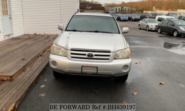 Used 2004 TOYOTA HIGHLANDER BH639197 for Sale