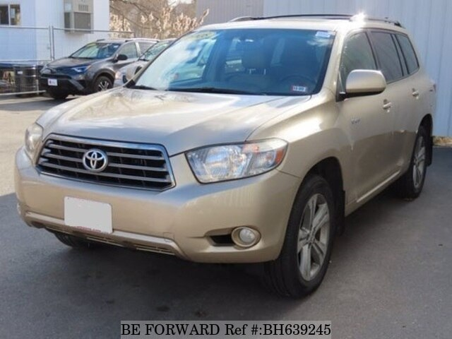 Used 2008 TOYOTA HIGHLANDER BH639245 for Sale