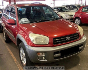 Used 2003 TOYOTA RAV4 BH639543 for Sale