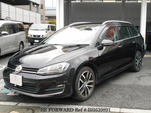 Used 2015 VOLKSWAGEN GOLF VARIANT BH639891 for Sale