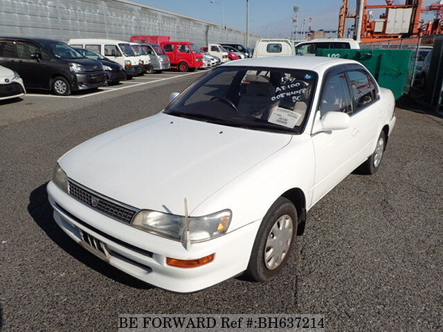 Used 1993 TOYOTA COROLLA SEDAN BH637214 for Sale