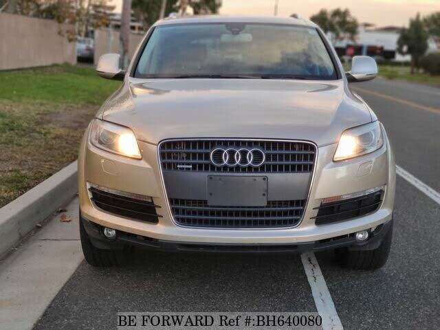Used 2008 AUDI Q7 BH640080 for Sale