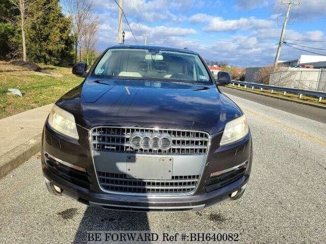 Used 2008 AUDI Q7 BH640082 for Sale