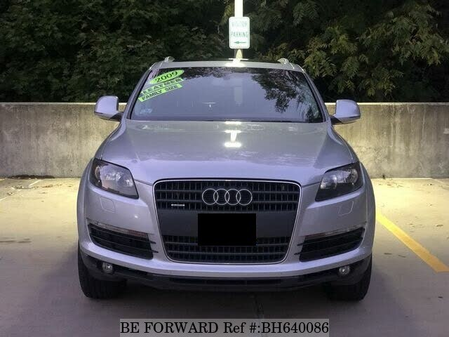 Used 2009 AUDI Q7 BH640086 for Sale