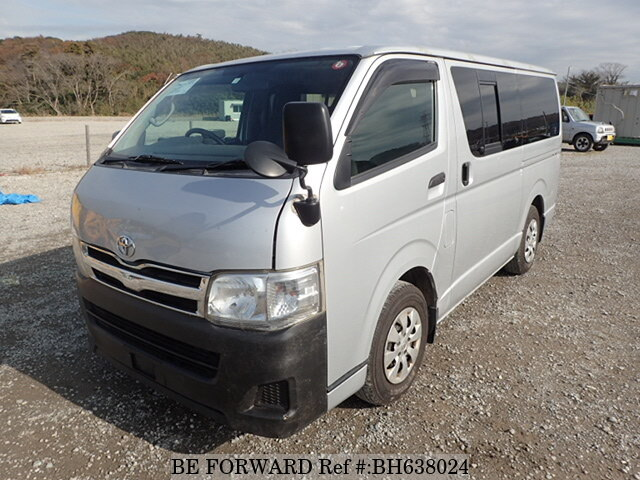 Used 2010 TOYOTA HIACE VAN BH638024 for Sale
