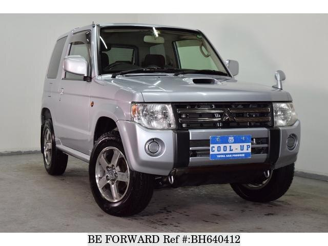 Used 2009 MITSUBISHI PAJERO MINI BH640412 for Sale