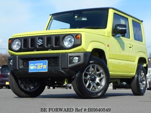 Used 2018 SUZUKI JIMNY BH640549 for Sale
