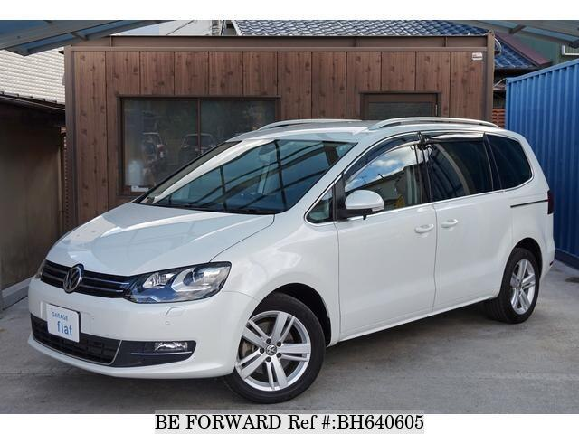 Used 2017 VOLKSWAGEN SHARAN BH640605 for Sale