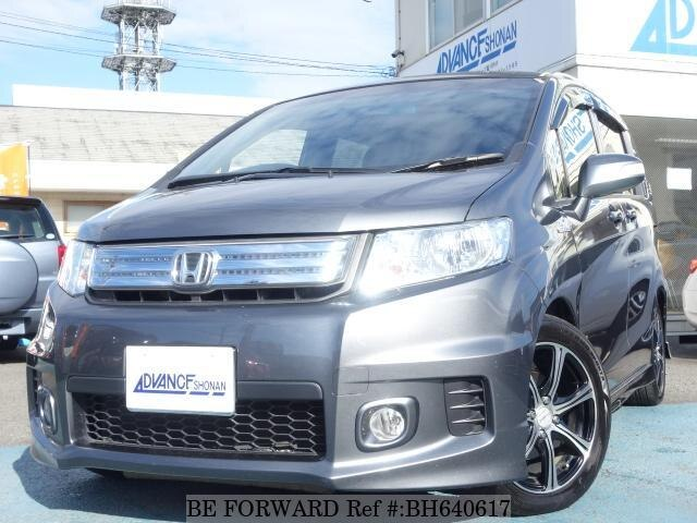 Used 2012 HONDA FREED HYBRID BH640617 for Sale