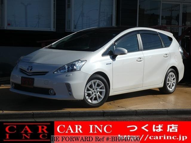 Used 2011 TOYOTA PRIUS ALPHA BH640700 for Sale
