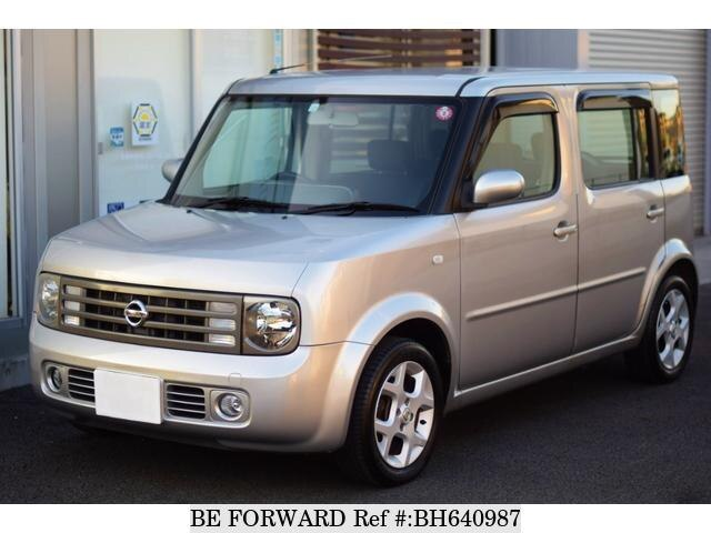Used 2004 NISSAN CUBE CUBIC BH640987 for Sale