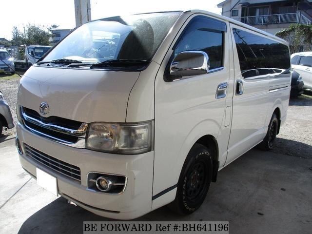 Used 2006 TOYOTA HIACE VAN BH641196 for Sale