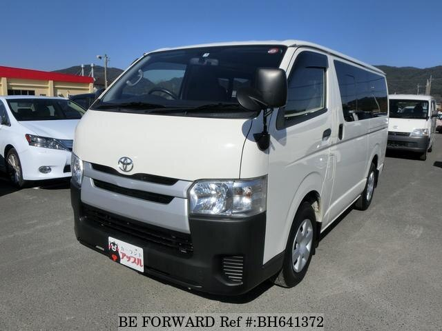 Used 2015 TOYOTA HIACE VAN BH641372 for Sale