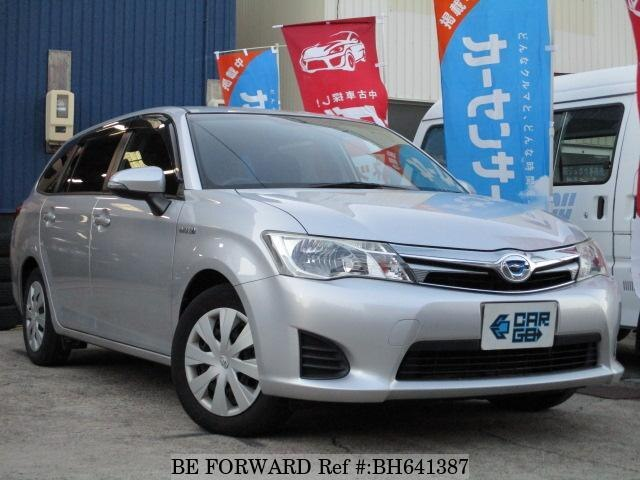 Used 2013 TOYOTA COROLLA FIELDER BH641387 for Sale
