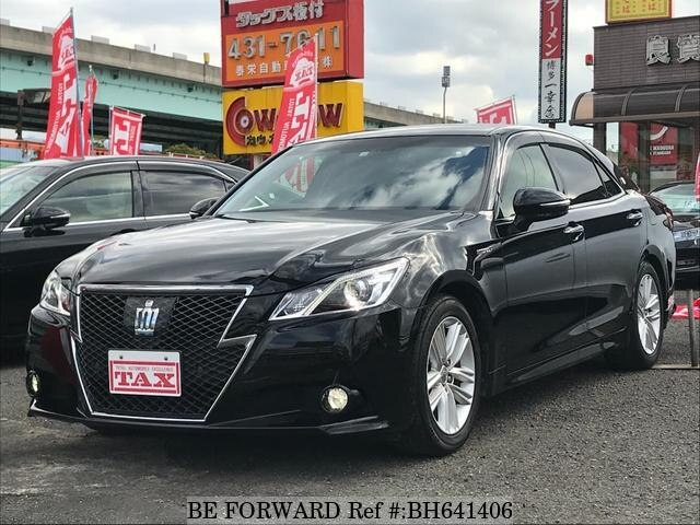 Used 2014 TOYOTA CROWN HYBRID BH641406 for Sale