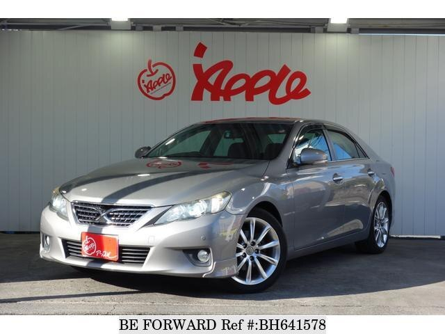 Used 2010 TOYOTA MARK X BH641578 for Sale