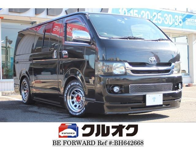 Used 2007 TOYOTA HIACE VAN BH642668 for Sale