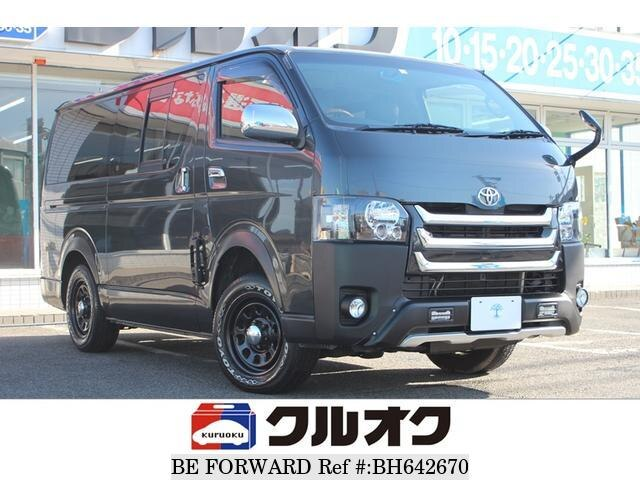 Used 2007 TOYOTA HIACE VAN BH642670 for Sale