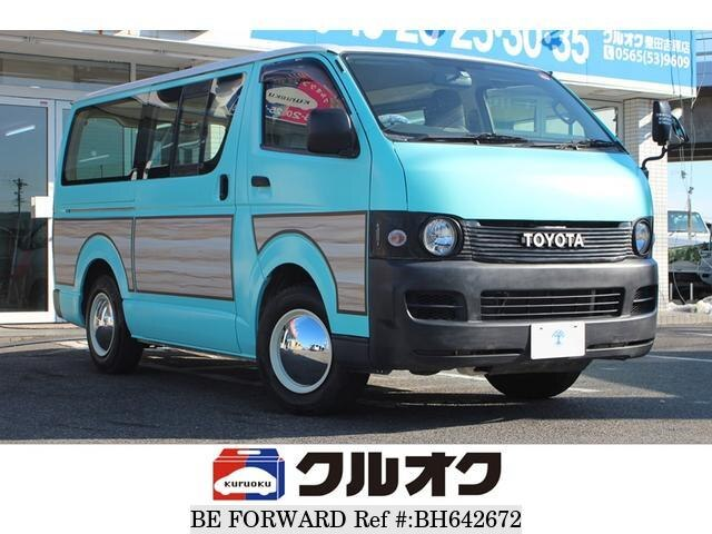 Used 2009 TOYOTA HIACE VAN BH642672 for Sale