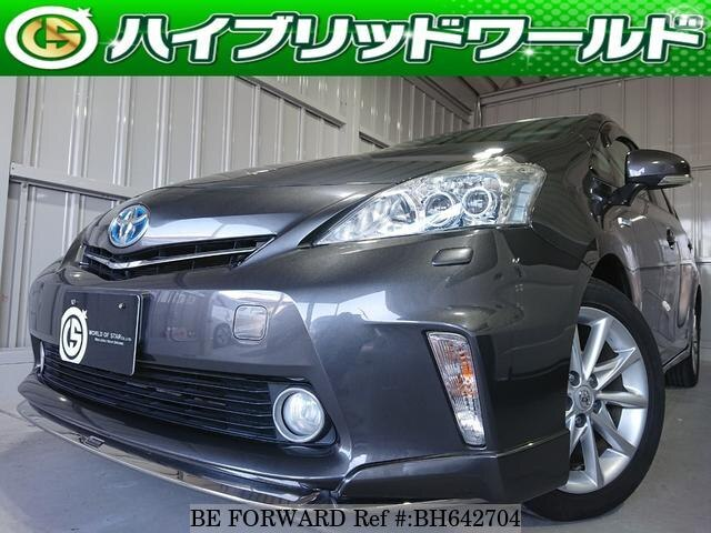 Used 2011 TOYOTA PRIUS ALPHA BH642704 for Sale