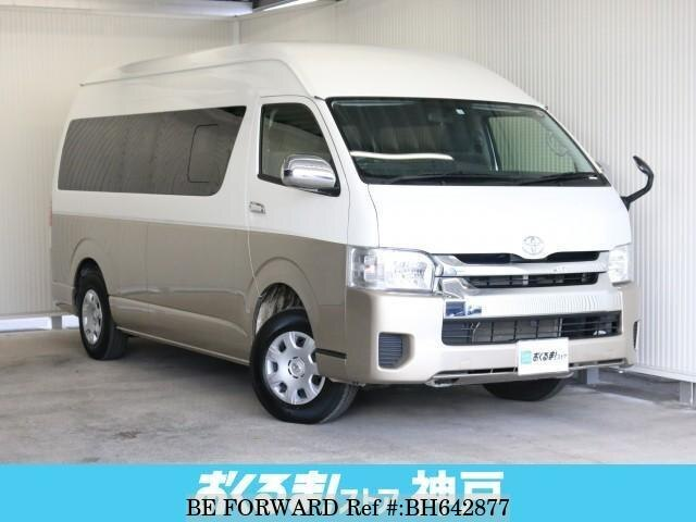 Used 2017 TOYOTA HIACE WAGON BH642877 for Sale