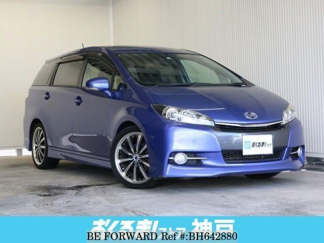 Used 2012 TOYOTA WISH BH642880 for Sale