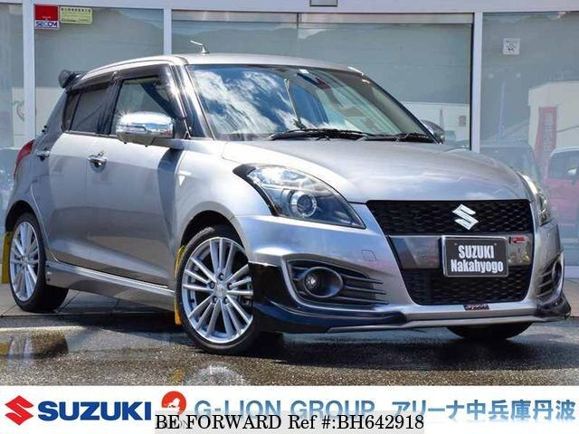 Used 2012 SUZUKI SWIFT BH642918 for Sale