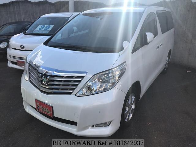 Used 2009 TOYOTA ALPHARD BH642937 for Sale