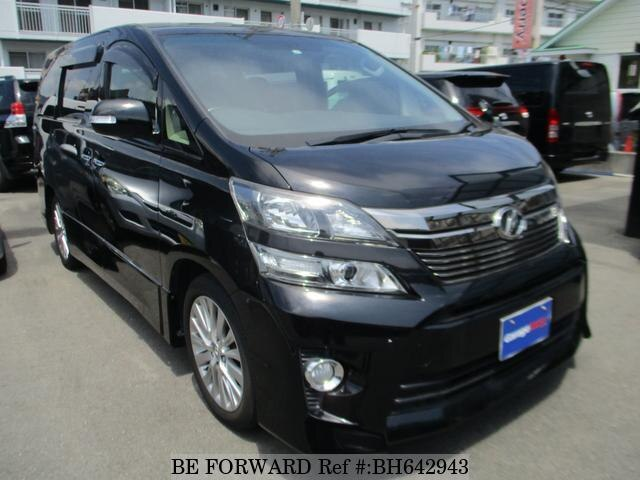 Used 2013 TOYOTA VELLFIRE BH642943 for Sale
